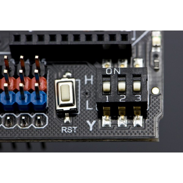Dual Bipolar Stepper Motor Shield for Arduino (A4988) With Xbee